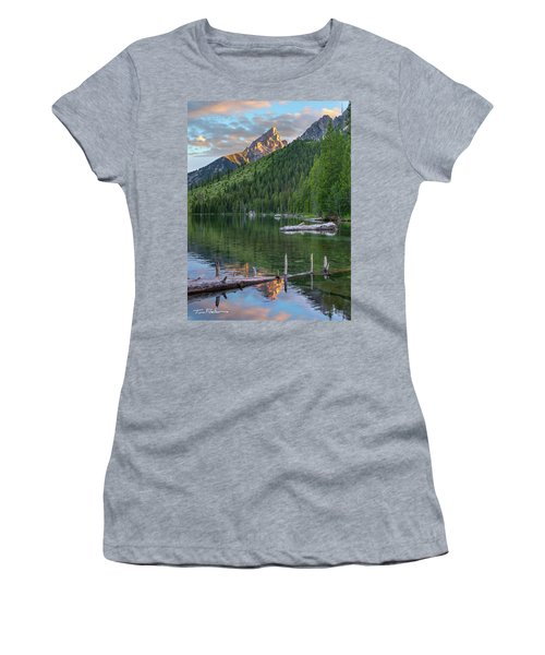 String Lake Women's T-Shirt (Athletic Fit)