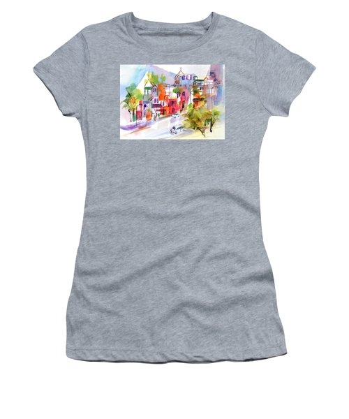 Stroll In Montreal Women's T-Shirt (Athletic Fit)