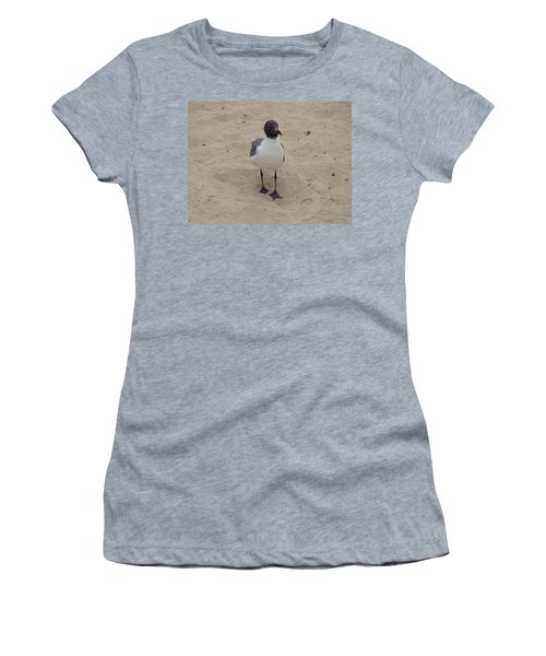 Struttin' Seagull  Women's T-Shirt (Athletic Fit)