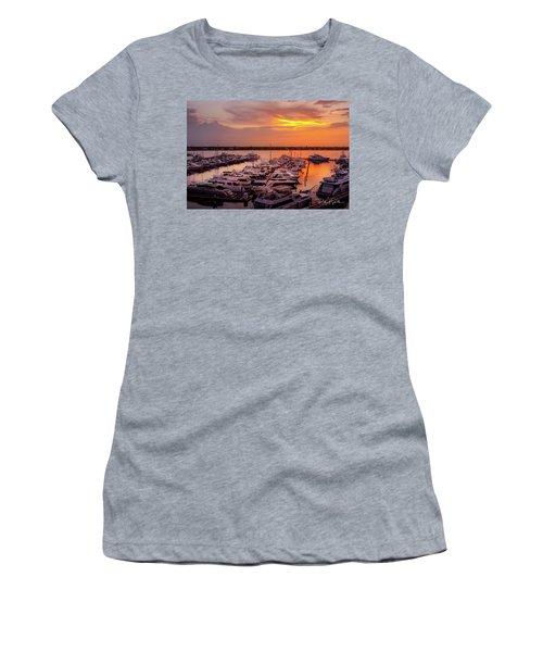 Stuart Sunset Women's T-Shirt (Athletic Fit)