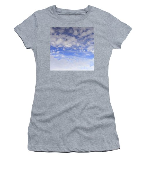 Stuck In The Clouds Women's T-Shirt