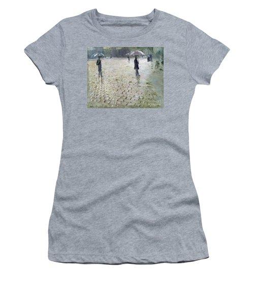 Study For A Paris Street Rainy Day Women's T-Shirt