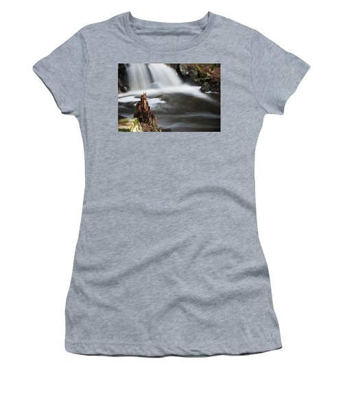 Stumped At The Secret Waterfall Women's T-Shirt