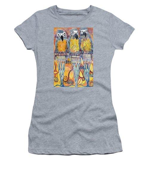 Subtle Harmony Women's T-Shirt (Junior Cut) by Leela Payne