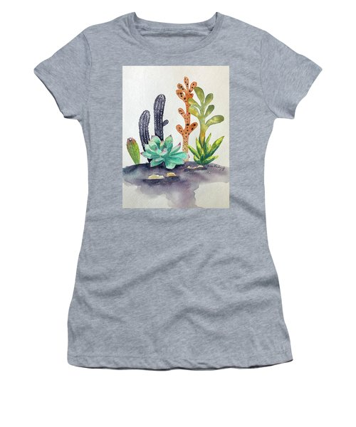 Succulents Desert Women's T-Shirt