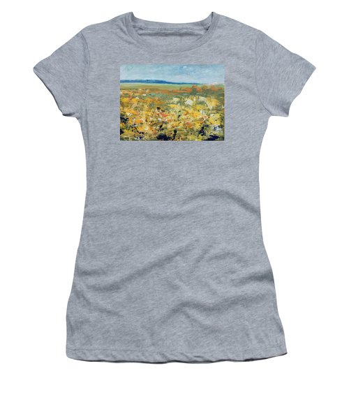 Suggestion Of Flowers Women's T-Shirt