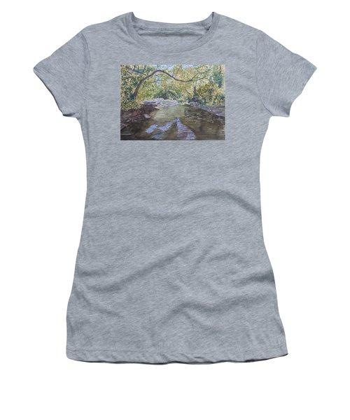 Summer On The South Tow River Women's T-Shirt (Junior Cut) by Joel Deutsch