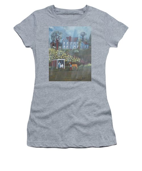 Summer Rain Women's T-Shirt (Athletic Fit)