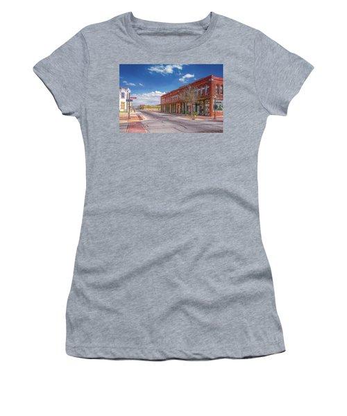 Sunday In Brenham, Texas Women's T-Shirt