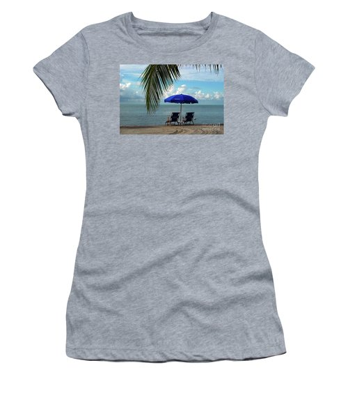 Sunday Morning At The Beach In Key West Women's T-Shirt