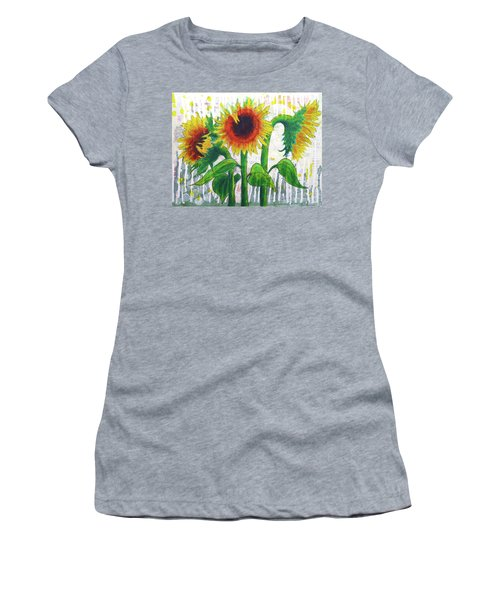 Sunflower Sonata Women's T-Shirt