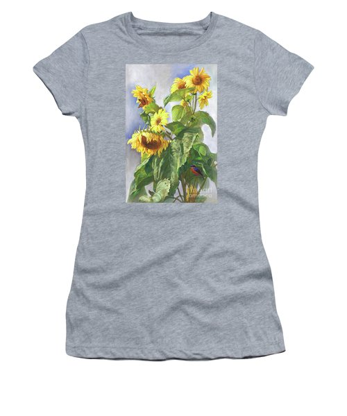 Sunflowers After The Rain Women's T-Shirt (Athletic Fit)