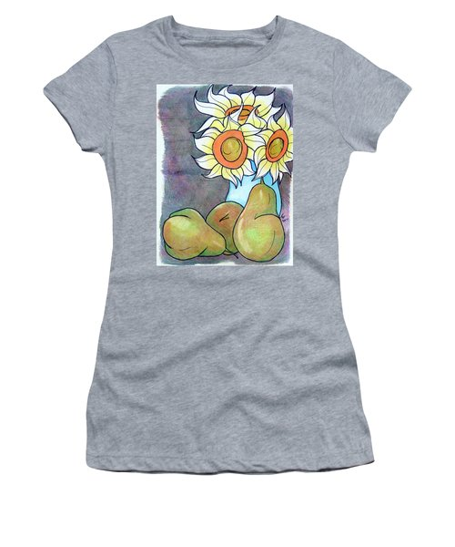 Sunflowers And Pears Women's T-Shirt