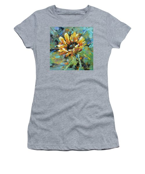 Sunflowers II Women's T-Shirt (Athletic Fit)