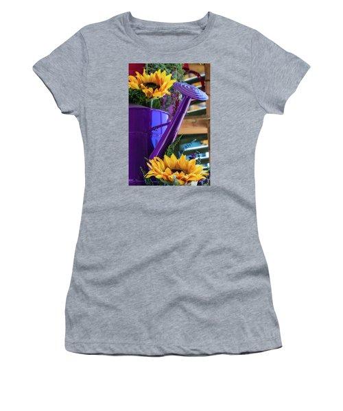 Complementary Sunflowers Women's T-Shirt