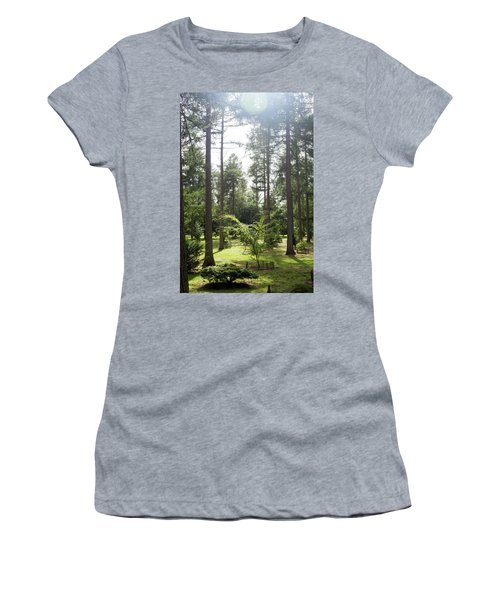 Sunlight Through The Trees Women's T-Shirt (Athletic Fit)
