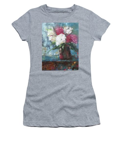 Sunlit Bouquet Women's T-Shirt (Athletic Fit)