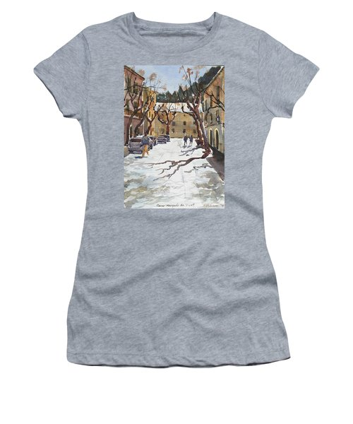 Sunny Street, Valledemossa Women's T-Shirt