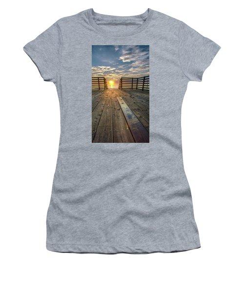 Sunrise Boardwalk Women's T-Shirt
