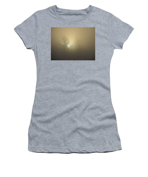 Sunrise Fogged - 1 Women's T-Shirt (Athletic Fit)
