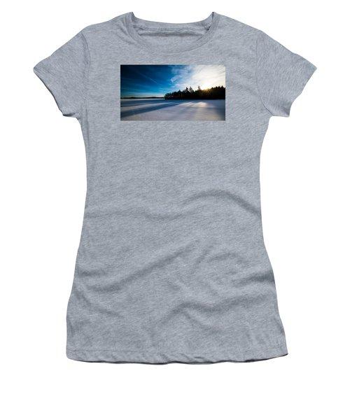 Sunrise In Winter Women's T-Shirt