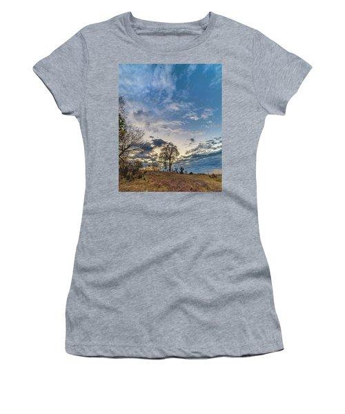 Sunrise On The Back Hill Women's T-Shirt