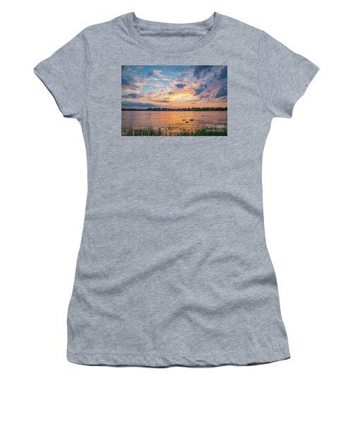 Sunset At Morse Lake Women's T-Shirt