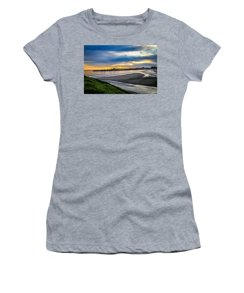 Sunset At The Rivermouth Women's T-Shirt