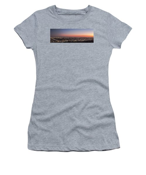 Sunset Dreaming Women's T-Shirt (Athletic Fit)