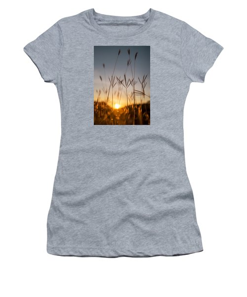 Sunset Grass Women's T-Shirt