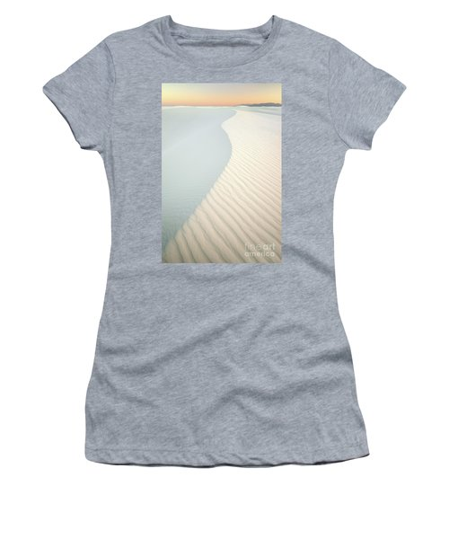 Sunset In White Sands Women's T-Shirt (Athletic Fit)