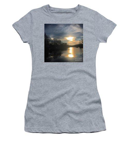Sunset  Women's T-Shirt (Junior Cut) by Jason Nicholas