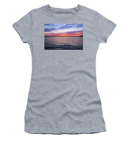 Sunset On Barnegat Bay I - Jersey Shore Women's T-Shirt