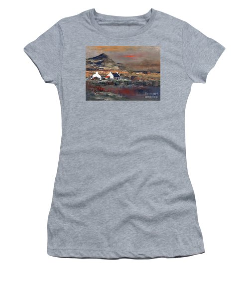 Sunset On Mount Errigal, Dunegal Women's T-Shirt