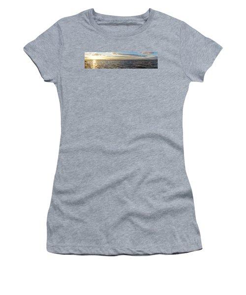 Sunset Over Cape Fear River Women's T-Shirt