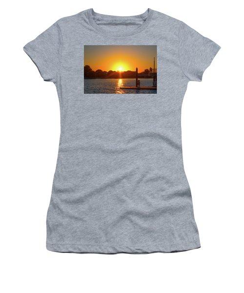 Sunset Over Hains Point Women's T-Shirt
