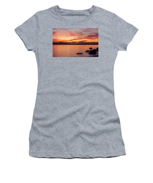 Sunset Puget Sound Women's T-Shirt