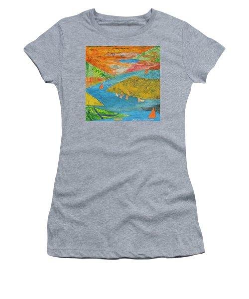 Sunset Sails 1 Women's T-Shirt