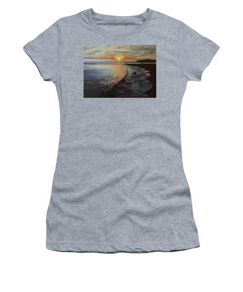 Sunset Sea Women's T-Shirt (Athletic Fit)