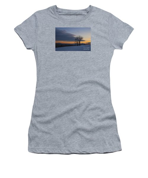 Sunset Solitude Women's T-Shirt (Athletic Fit)