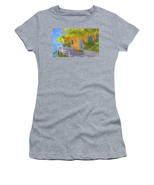 Sunset Villas Waterfront Apartment Women's T-Shirt
