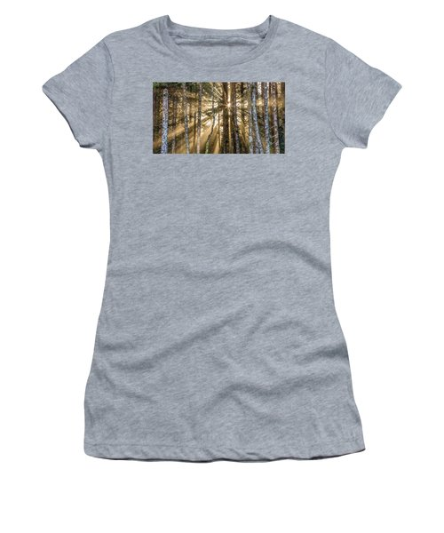 Sunshine Forest Women's T-Shirt (Athletic Fit)