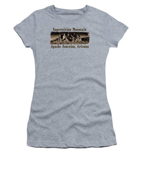 Superstition Mountain  Women's T-Shirt
