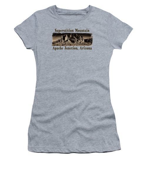 Superstition Mountain  Women's T-Shirt (Athletic Fit)
