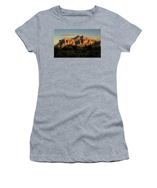 Superstitions At Sunset  Women's T-Shirt (Athletic Fit)
