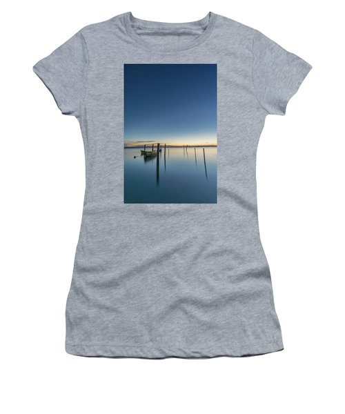 Women's T-Shirt featuring the photograph Sure Is Quiet Our Here by Bruno Rosa