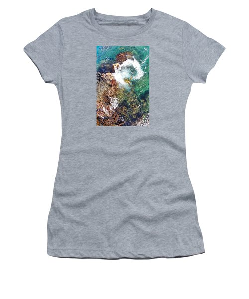 Surfacing Women's T-Shirt (Junior Cut) by James Roemmling