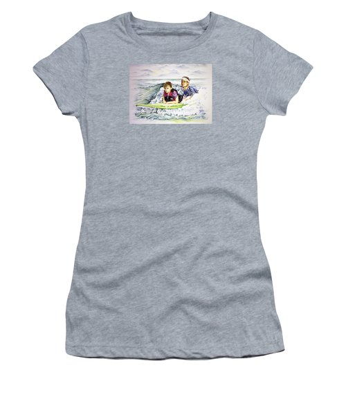 Surfers Healing Women's T-Shirt (Athletic Fit)