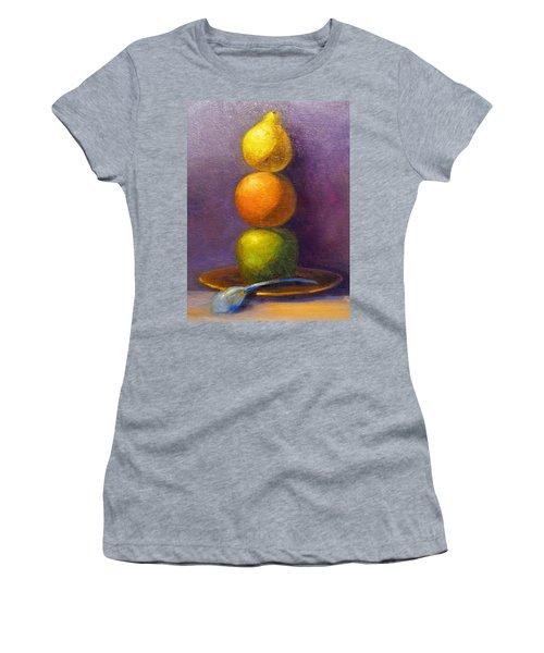 Suspenseful Balance Women's T-Shirt (Athletic Fit)