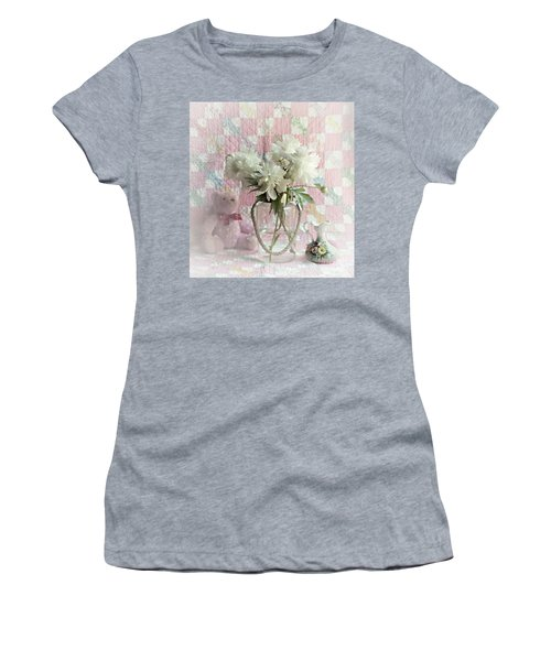 Sweet Memories Of Four Generations Women's T-Shirt (Athletic Fit)